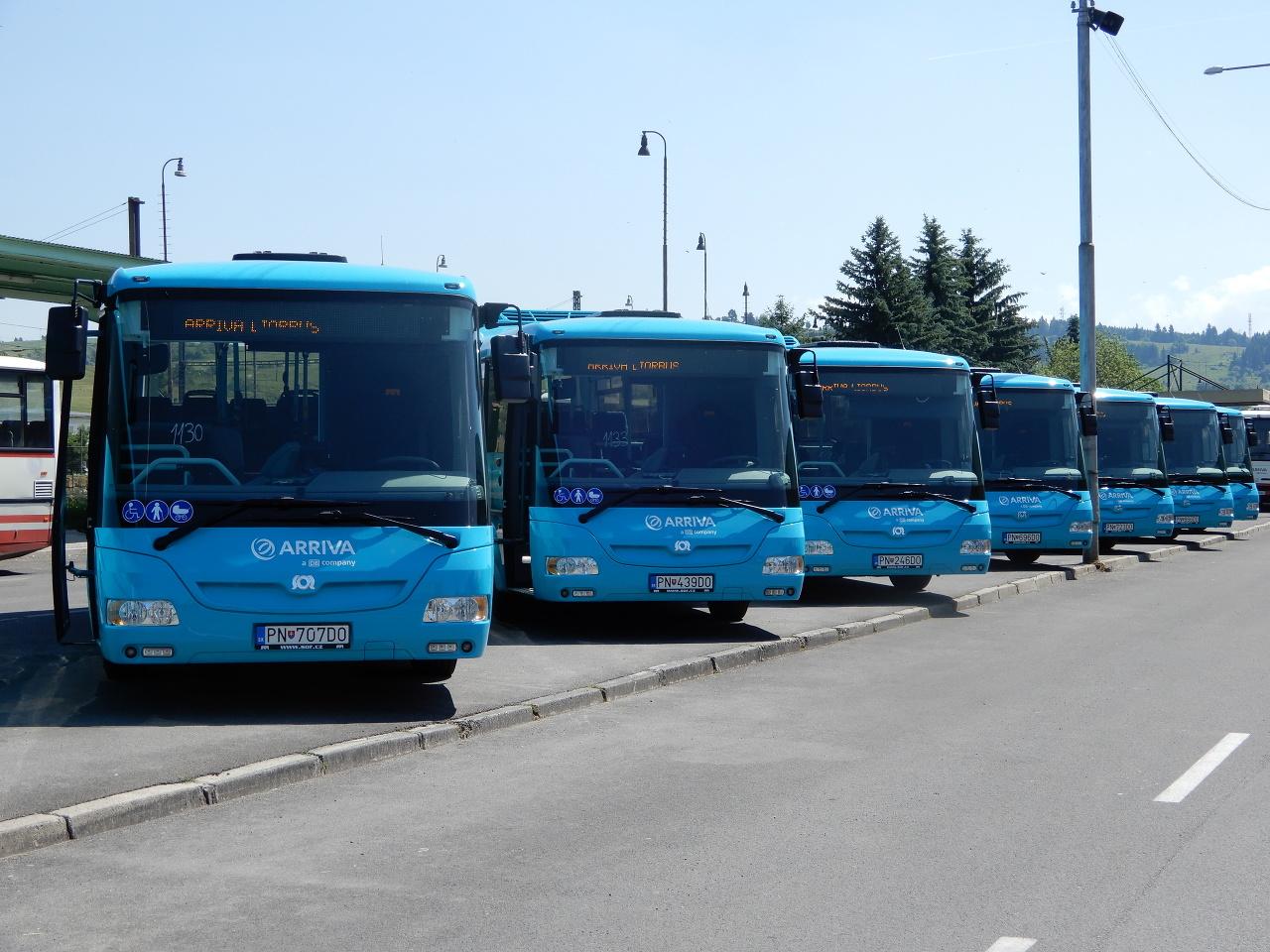 Nové autobusy v Liptovskom