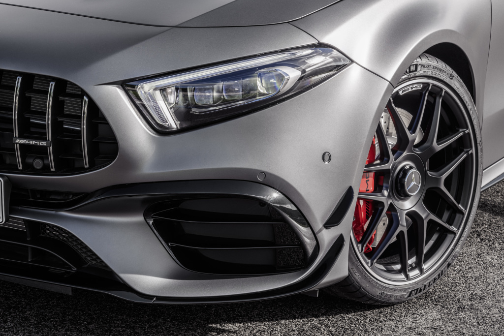 PHOTO: A 45 AMG and CLA 45 AMG: The world's most powerful four