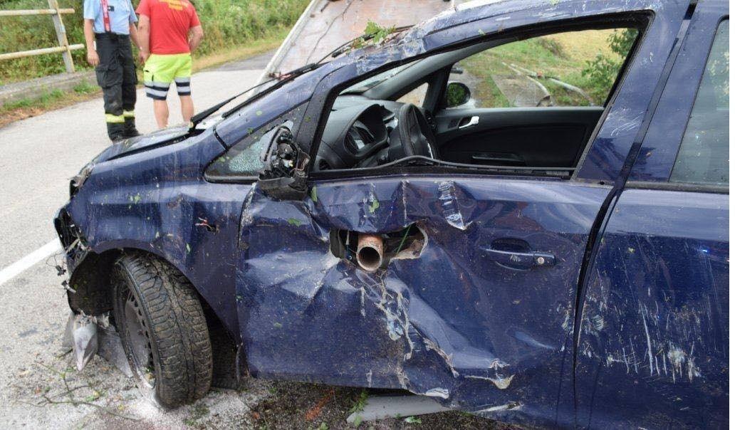Nehoda Trenčín zábradlie