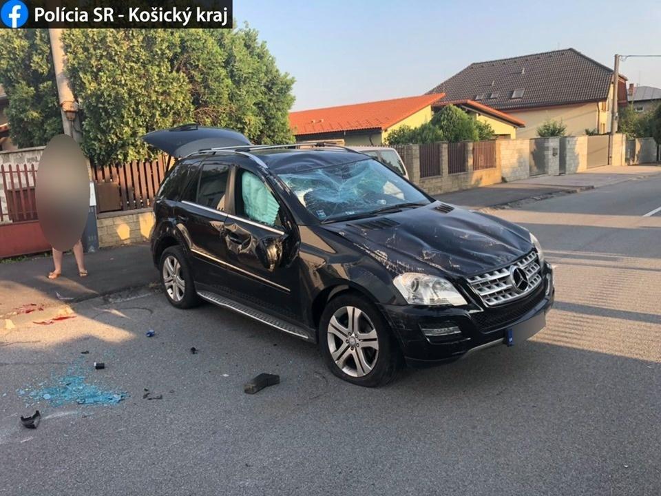 Mercedes ML na streche