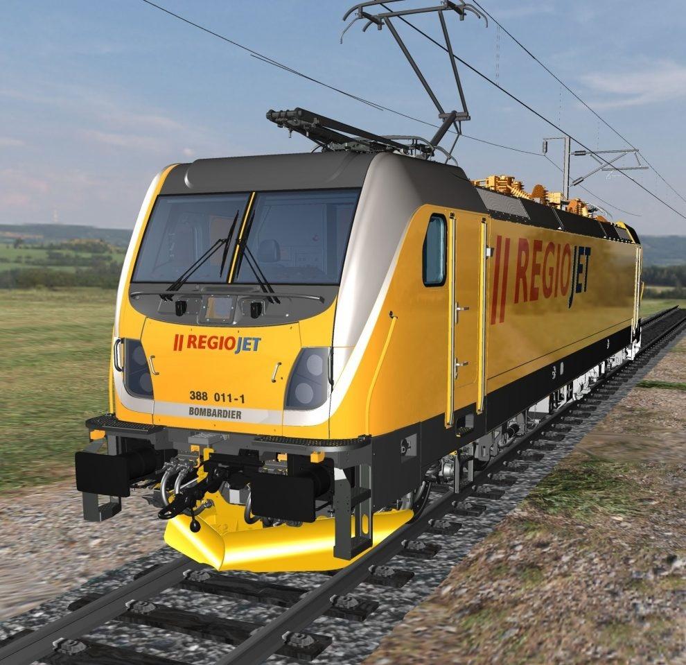 Traxx MS3 Bombardier