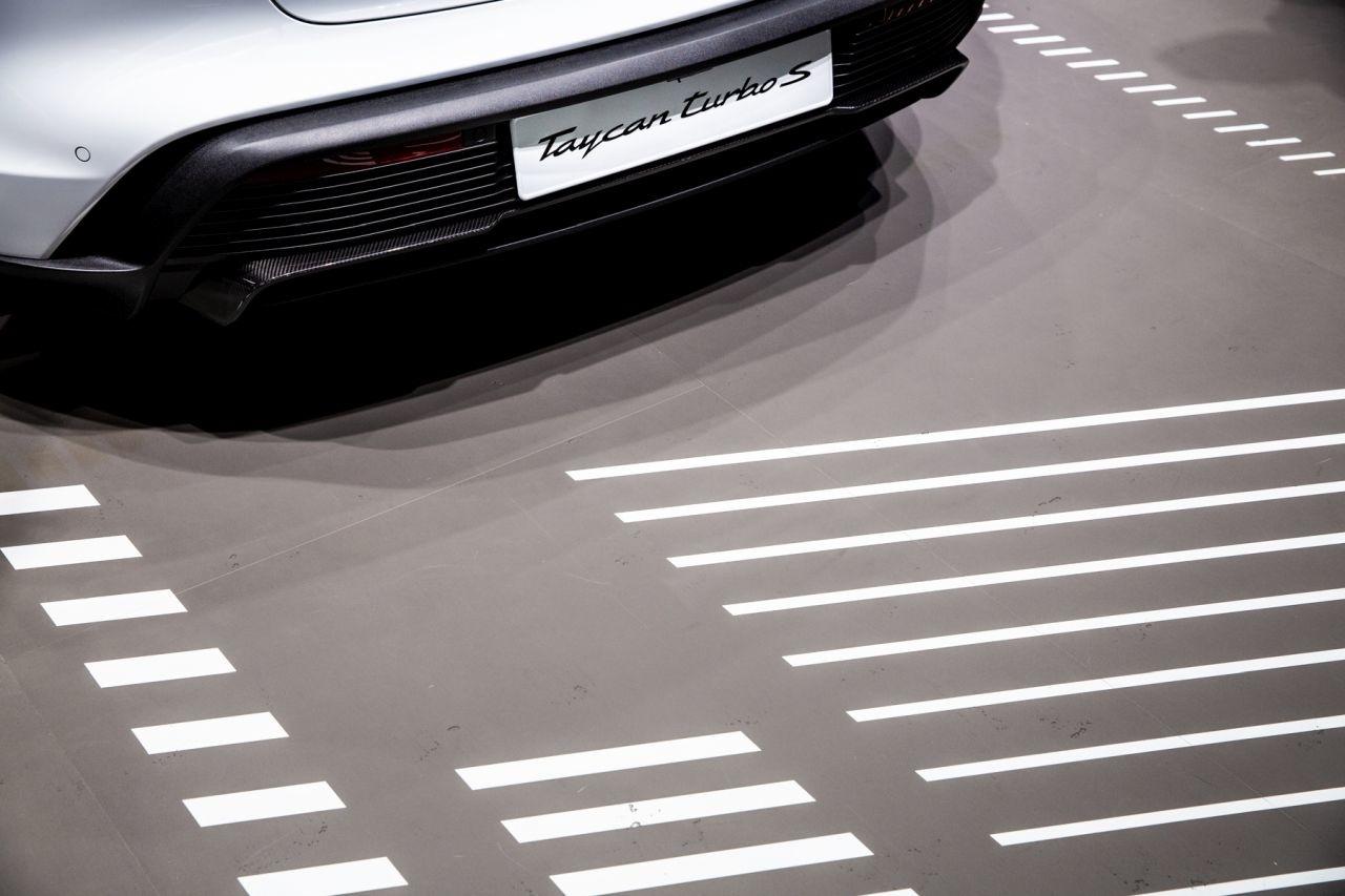 Porsche Tycan IAA Frankfurt