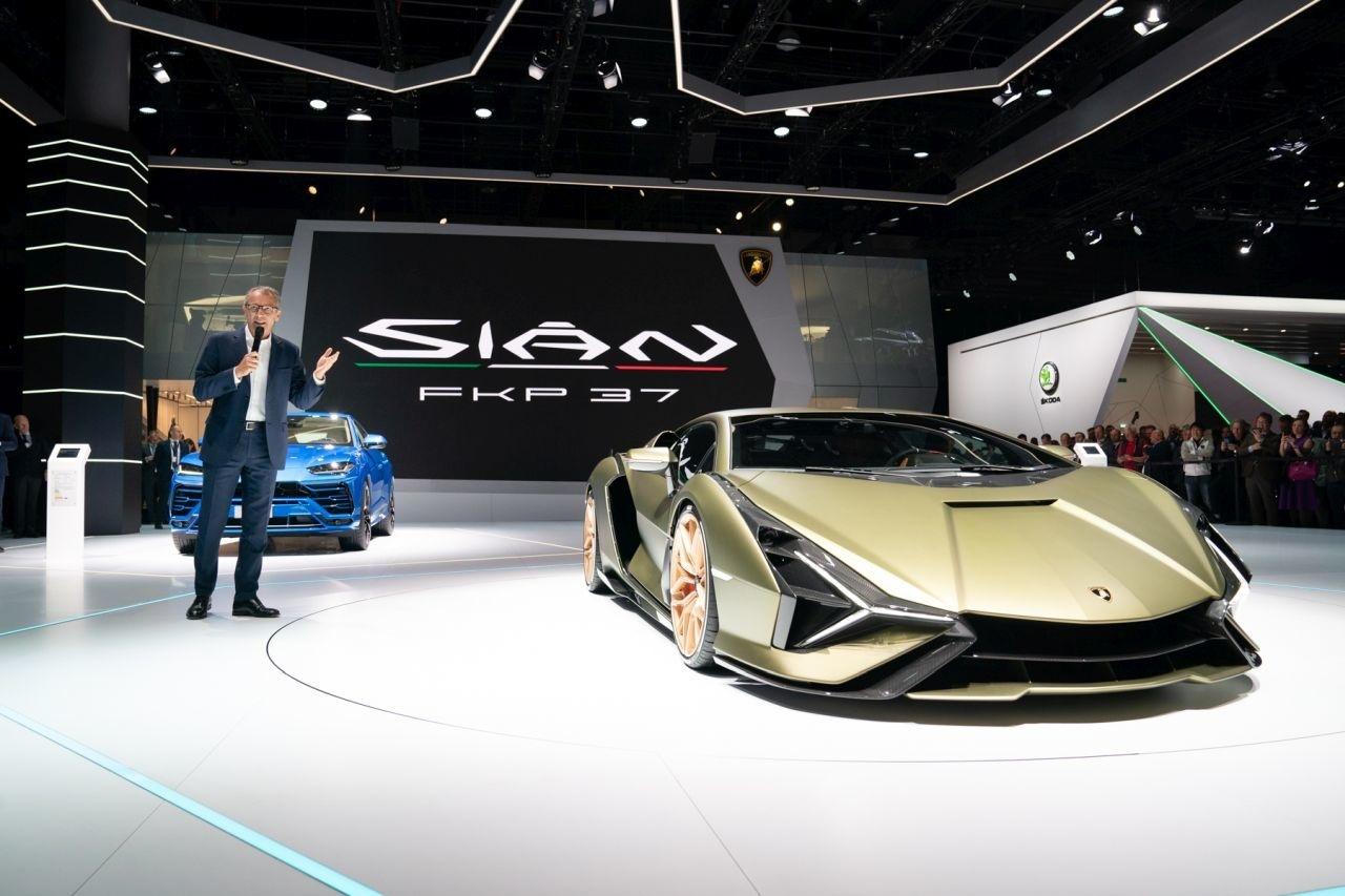 Lamborghini Sian IAA Frankfurt