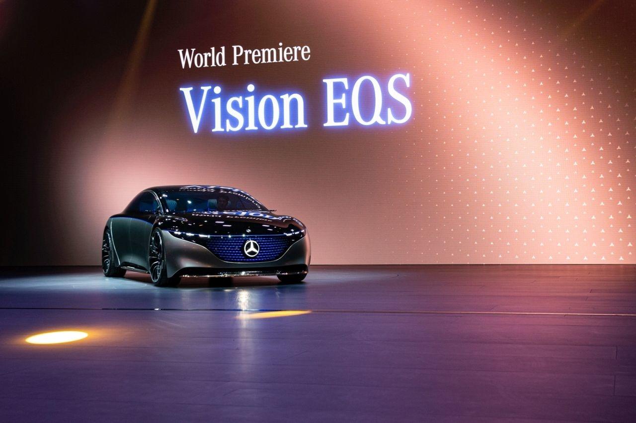 Mercedes Vison EQS IAA