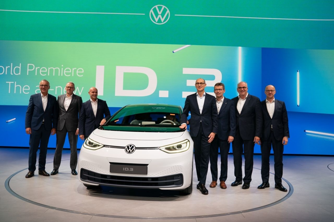 VW ID.3 IAA Frankfurt