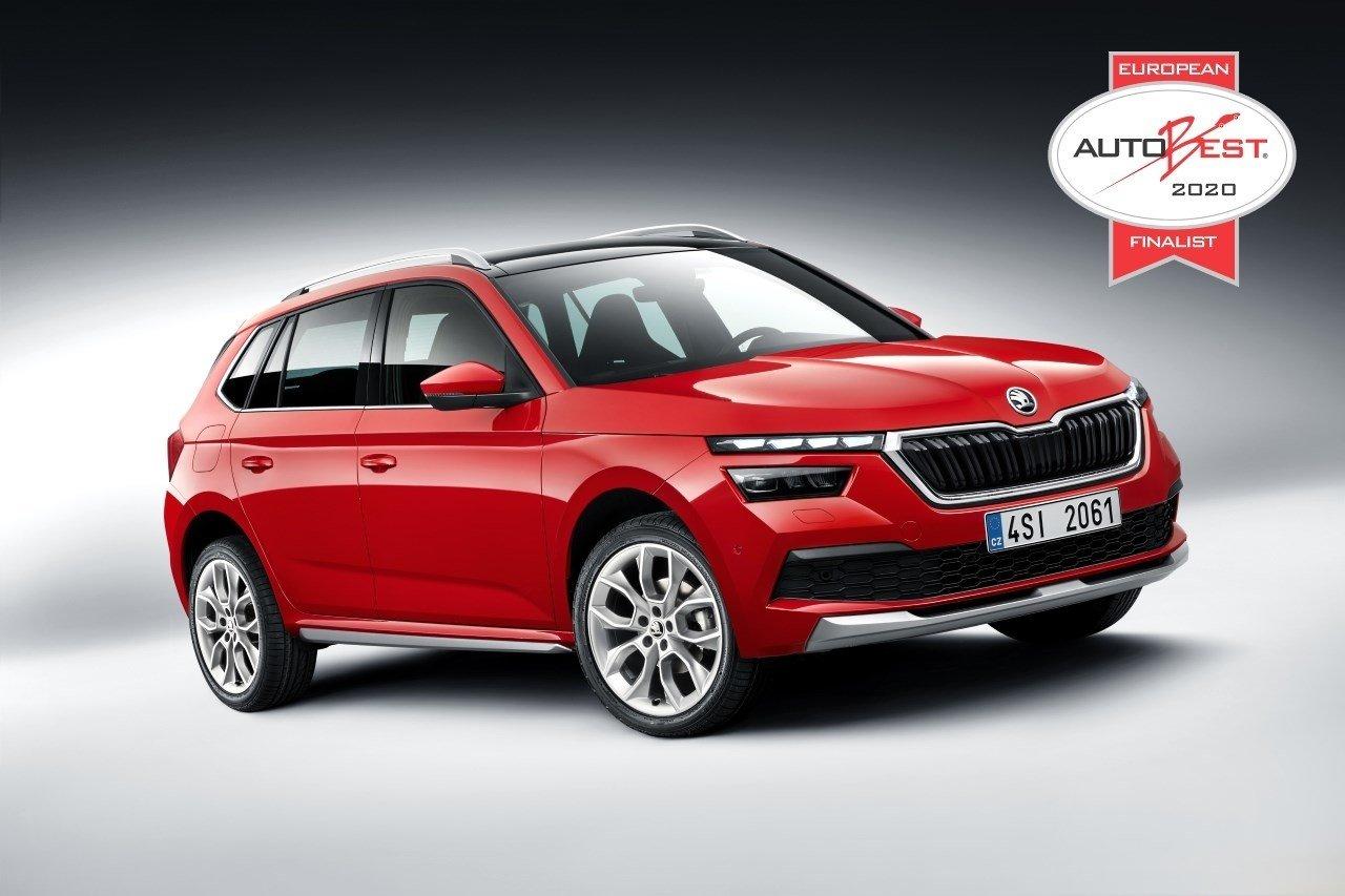 Škoda Kamiq - finalista