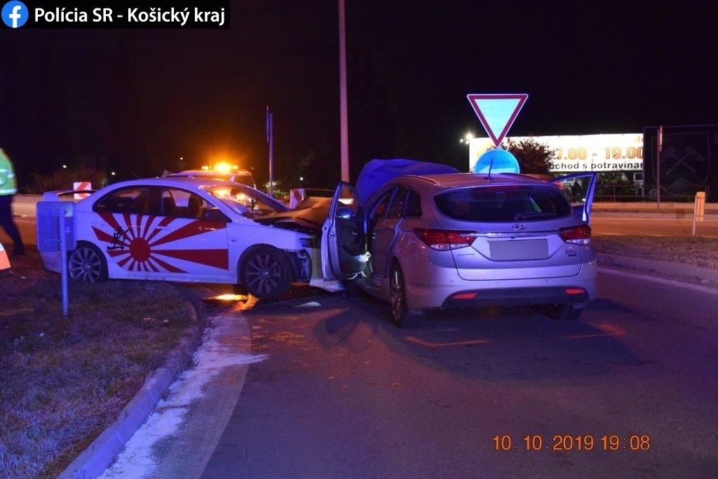 Čelná zrážka Košice