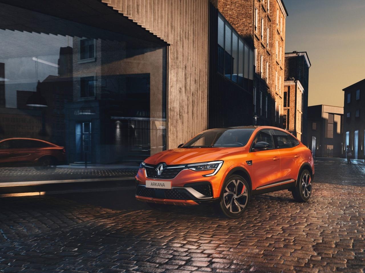 Renault Arkana EU spec