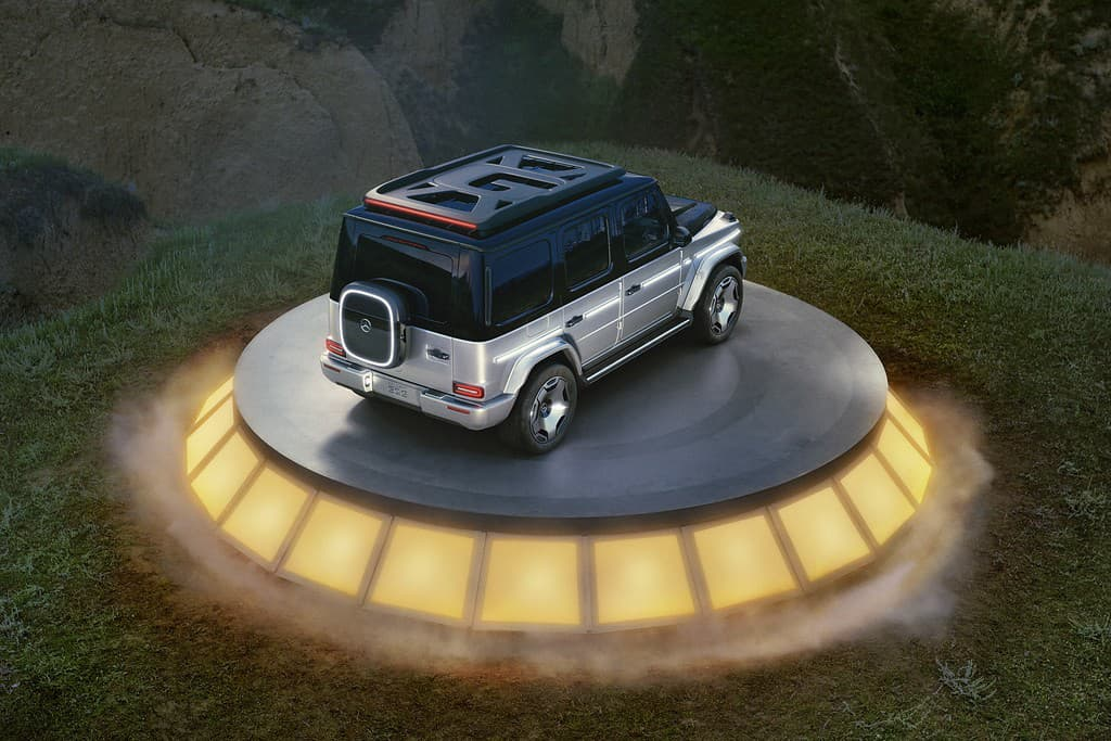Mercedes EQG koncept