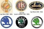 Postupný vývoj logotypu českej