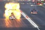Výbuch, veľa ohňa a