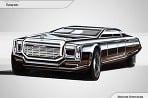 Dizajn limuzíny pre ruského