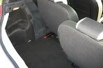 Zadné sedadlá sú posuvné