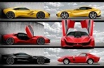 Ferrari CascoRosso - inšpirácia