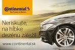 Continental radí: na hĺbke