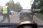 Policajná naháňačka v Rusku