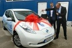Nissan Leaf v Kešicoch