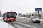 Sneh v Bratislave skomplikoval