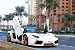 Pozlátené Lamborghini Aventador LP700-4