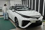 Karoséria Toyoty Mirai je