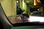 Drive thru incident