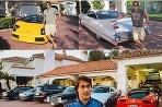 Hokejisti a ich autá