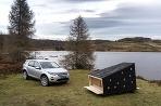 Land Rover vyrobil chatku