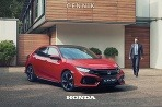 Honda Civic 2017 cenník