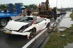 Lamborghini Gallardo v odpade