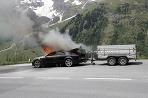 Audi A7 vs plamene