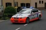 Policajné BMW v Luxembursku