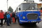 Staré autobusy v Žiline