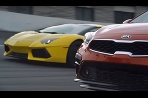 Kia Forte vs Lamborghini