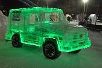 Mercedes-Benz G z ľadu