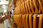 Výroba párkov vo Wolfsburgu