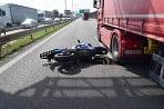 Nehoda motocyklista Bratislava