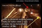 Tunel Bôrik - nehoda