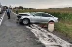 Nehoda Nitra - Vráble