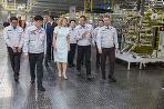 Prezidentka v Kia Motors