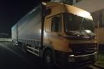 Kamión zablokoval cestu