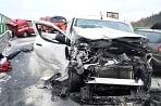 Nehoda na diaľnici D6