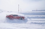 Bugatti Veyron snehový pluh