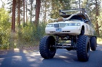 Lincoln Monster Truck