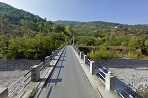 Most cez riečku Borbera