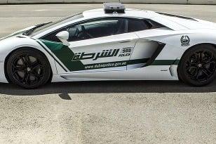 Lamborghini Aventador je policajným