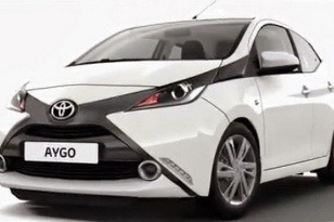 Toyota Aygo má iný