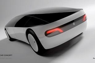 Apple Car Concept zozadu