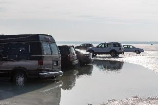 Parkovanie na jazere nie
