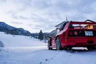 Drifting s Ferrari F40
