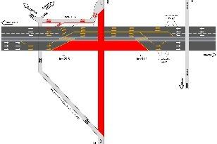 D1,križovatka,Blatné,kolaps,obmedzenia,